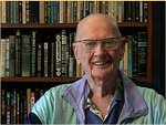 Arthur C. Clarke on his 90th birthday